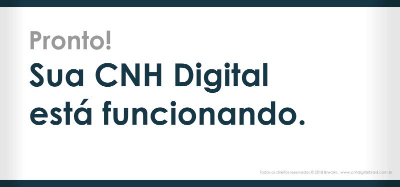 CNH Digital funcionando no celular