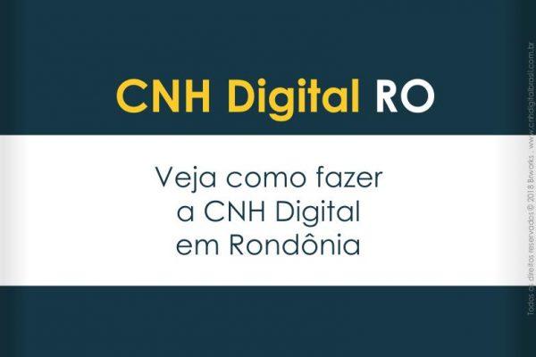 CNH Digital em RO Rondônia